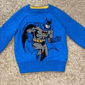 EUC Gap Batman sweater size 18-24
